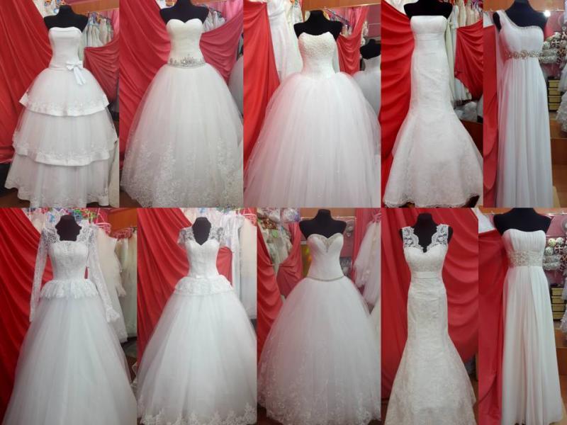 Свадебное платье в алмате